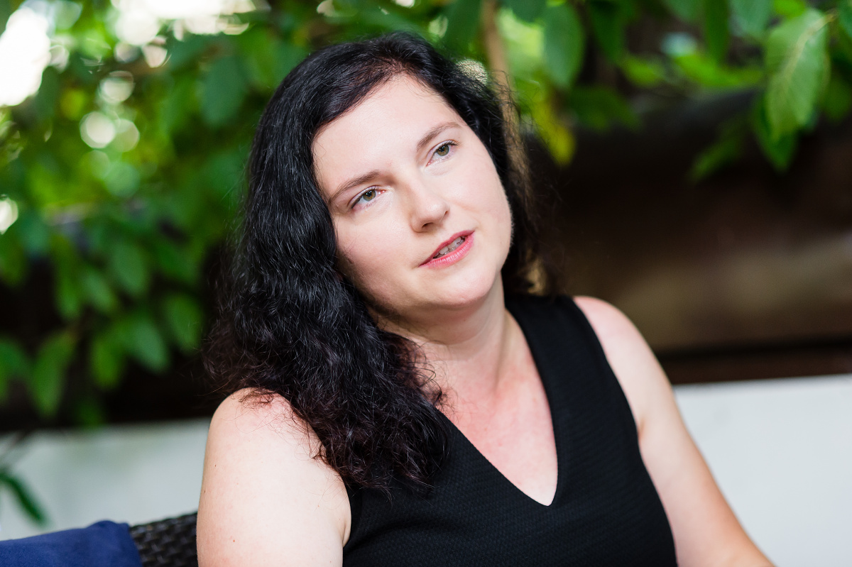 Aneta Petroušková. Foto: Vojta Herout