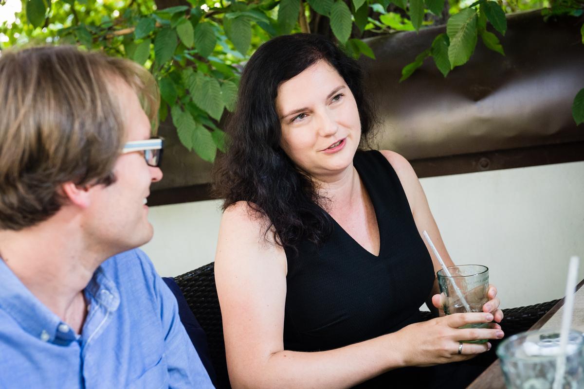 Miroslav Čepický, Aneta Petroušková. Foto: Vojta Herout