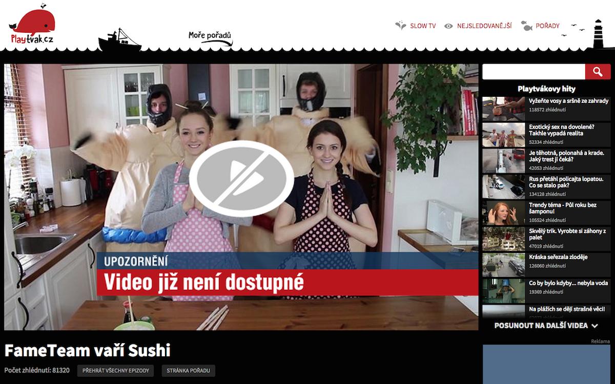 Raná videa FameTeamu ještě s Teri Blitzen (vpravo) už na Playtváku nejsou