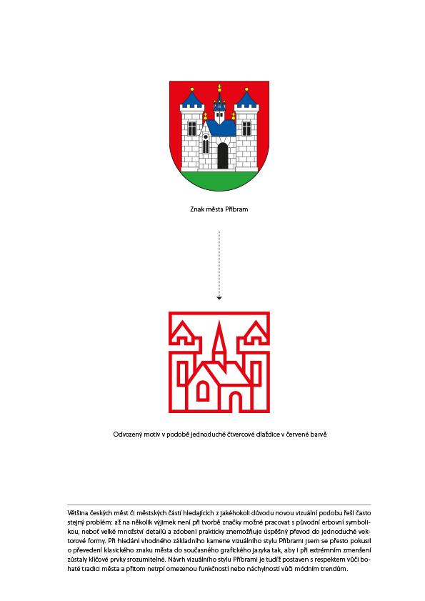 Nové logo Příbrami vychází z původního městského znaku