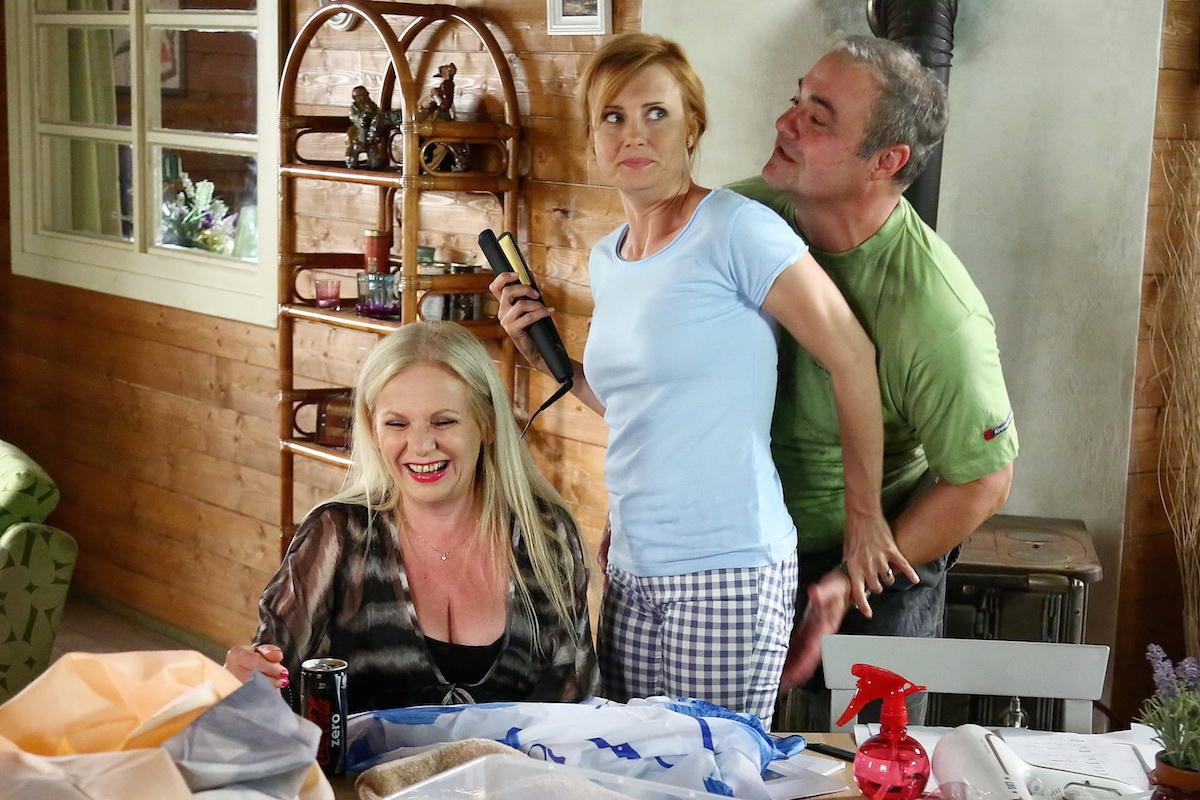 Jitka Schneiderová a Martin Zounar v seriálu Přístav. Foto: TV Prima