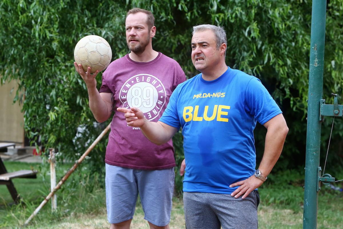 Filip Blažek a Martin Zounar v novém seriálu Přístav. Foto: TV Prima