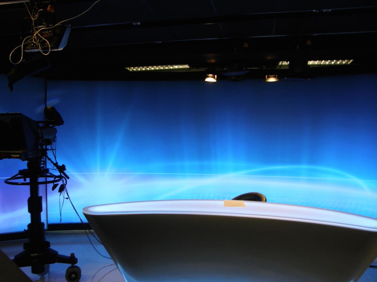 Aktuální podoba zpravodajského studia Barrandova