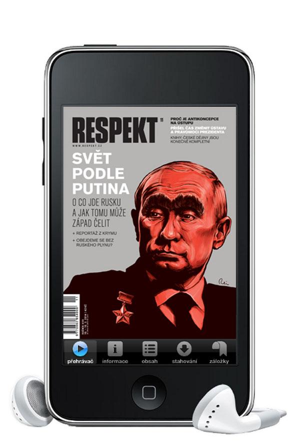 Respekt lze poslouchat i prostřednictvím jeho mobilních aplikací