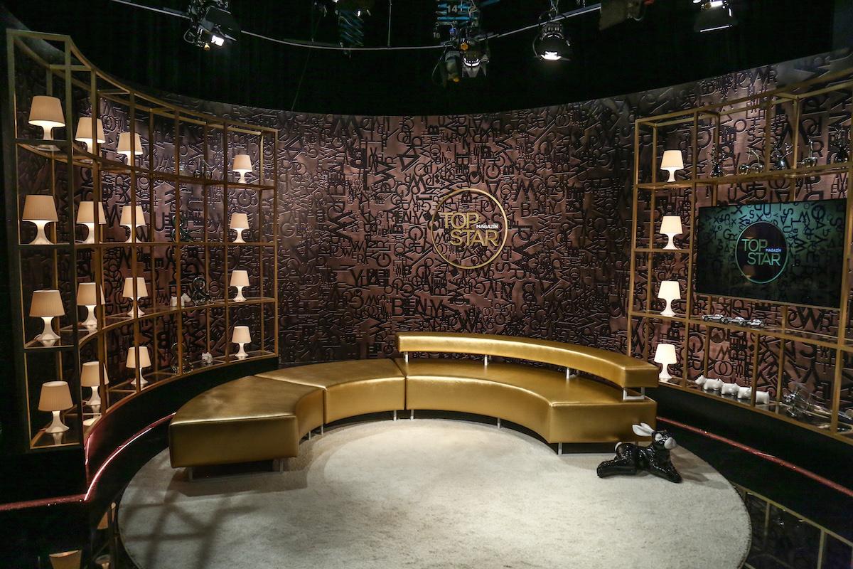 Nové studio magazínu Top Star od Jaroslava Holoty. Foto: TV Prima