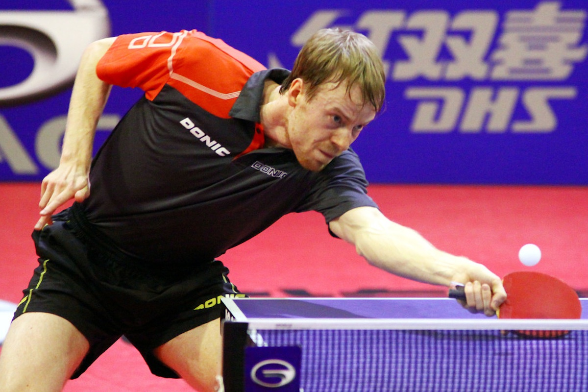 Turnaj se odehraje v Olomouci od 26. do 30. srpna. Ilustrační foto Česká asociace stolního tenisu