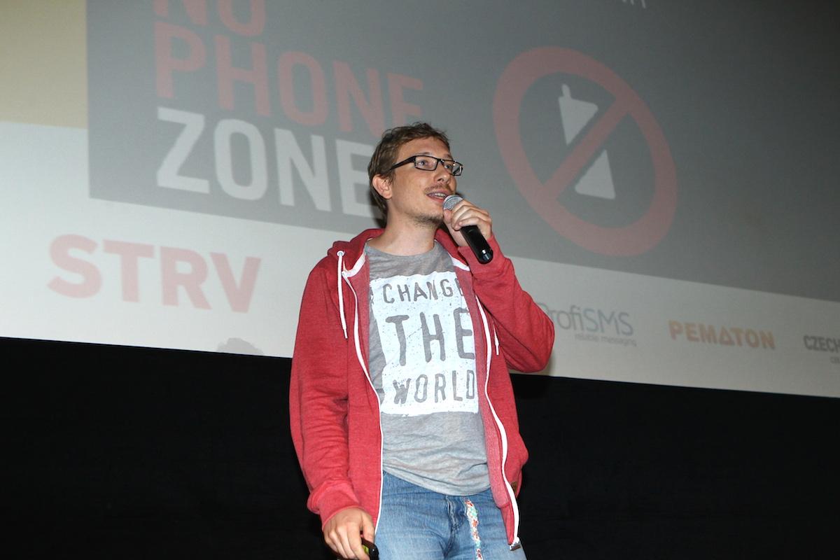 Petr Nálevka prezentuje svou Digital Detox Challenge