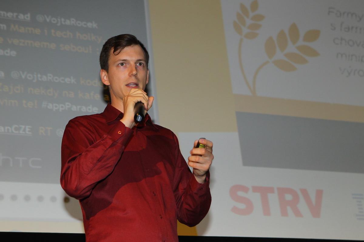 Tomáše Kejmar prezentuje Farmu v kapse
