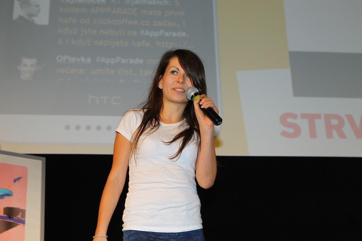 Zuzana Maderová prezentuje Staffino