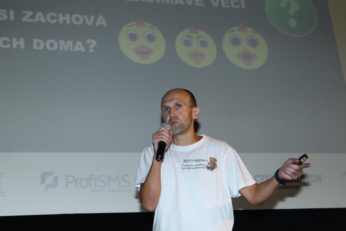 Pravidelný účastník AppParade Honza Škach s novým výtvorem Ukaž mi cestičku