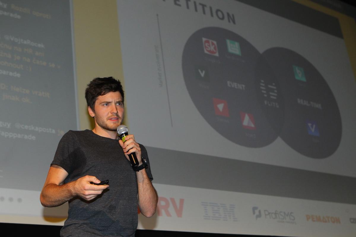 Matěj Žák představil aplikaci Flits