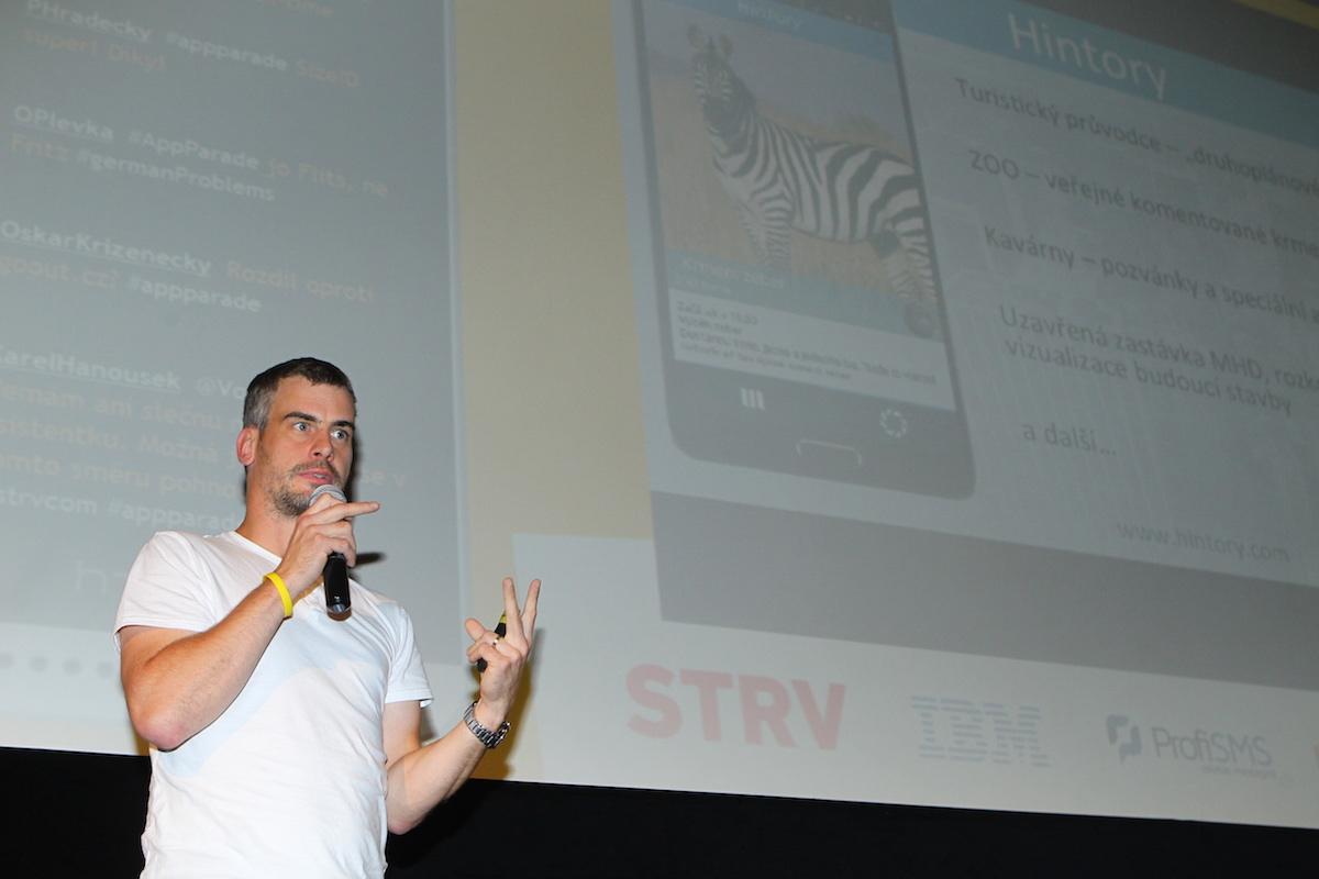 Martin Tomeček prezentuje Hintory