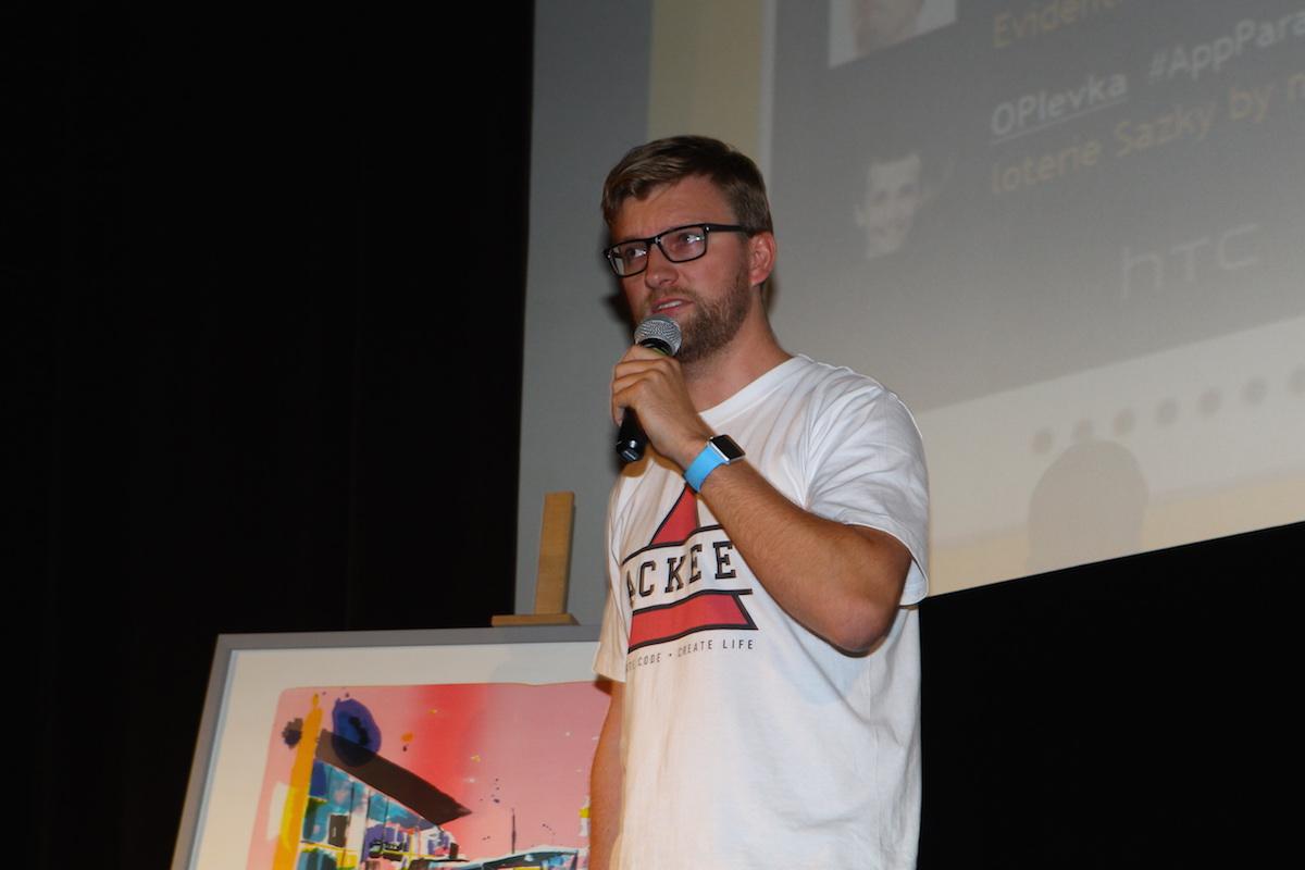 Josef Gattermayer z Ackee prezentuje Rekolu