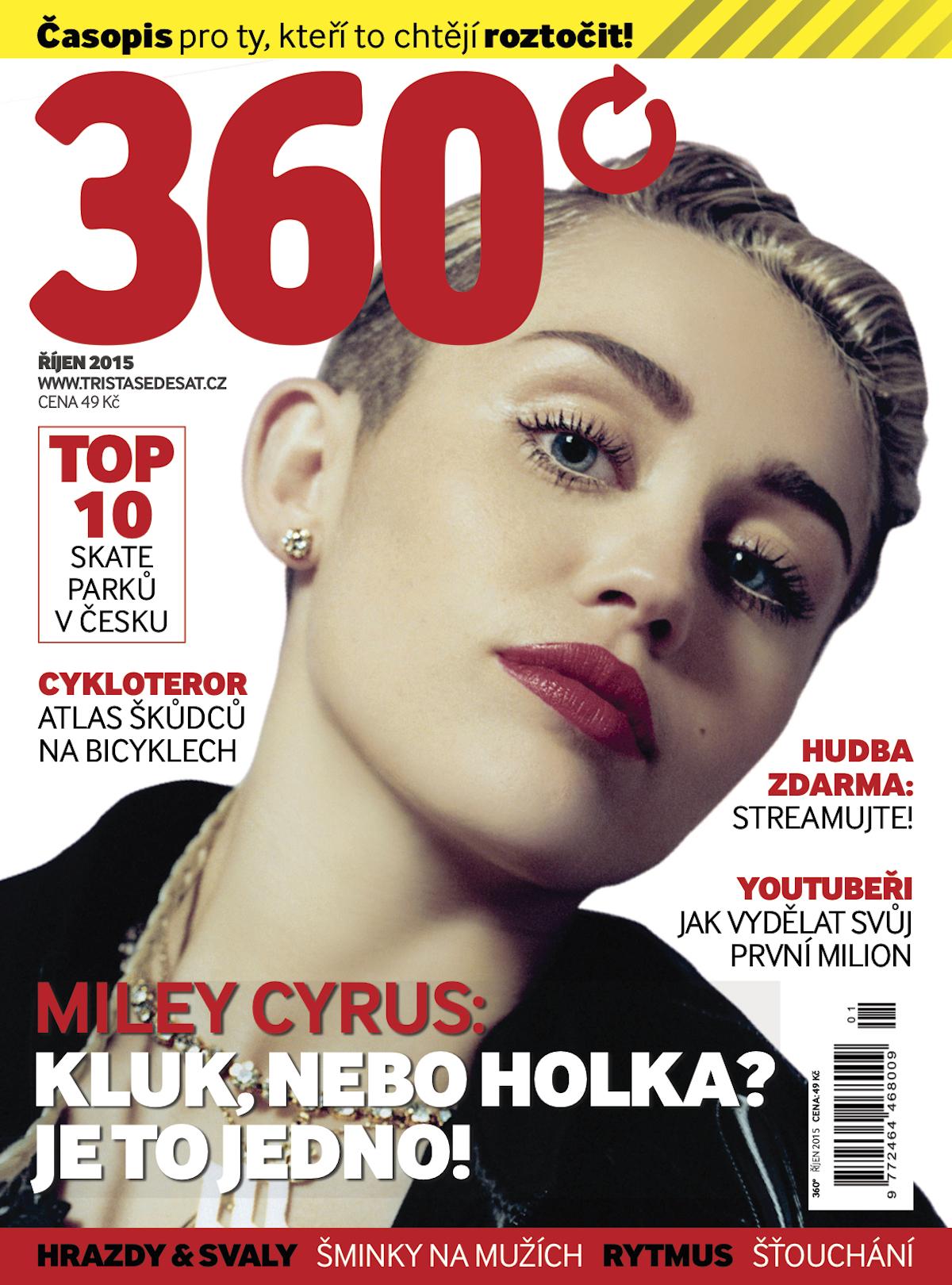 Titulní strana nového měsíčníku 360°