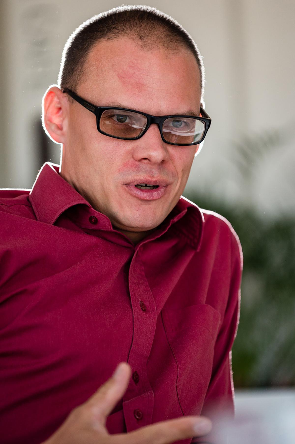 Matěj Novák, ředitel reklamní sítě CPEx. Foto: Vojta Herout