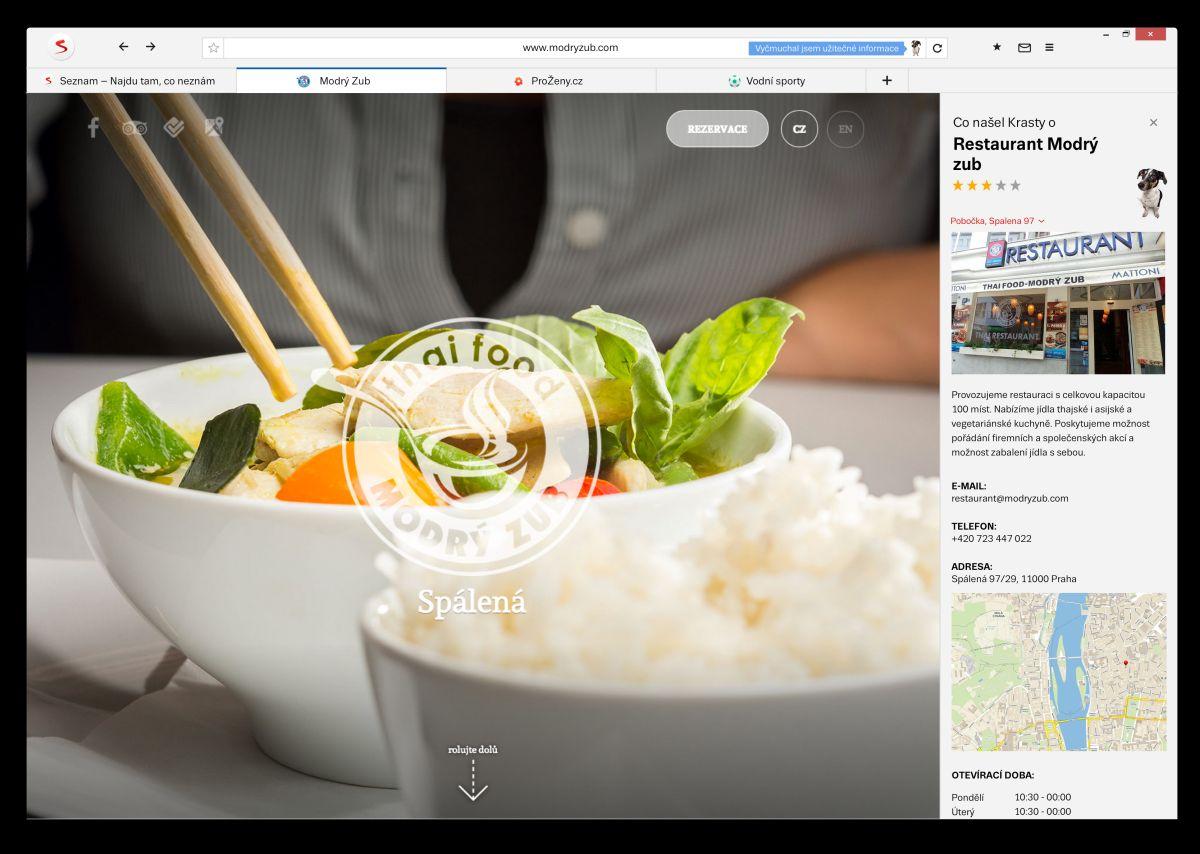 Prohlížeč ve verzi 2.0