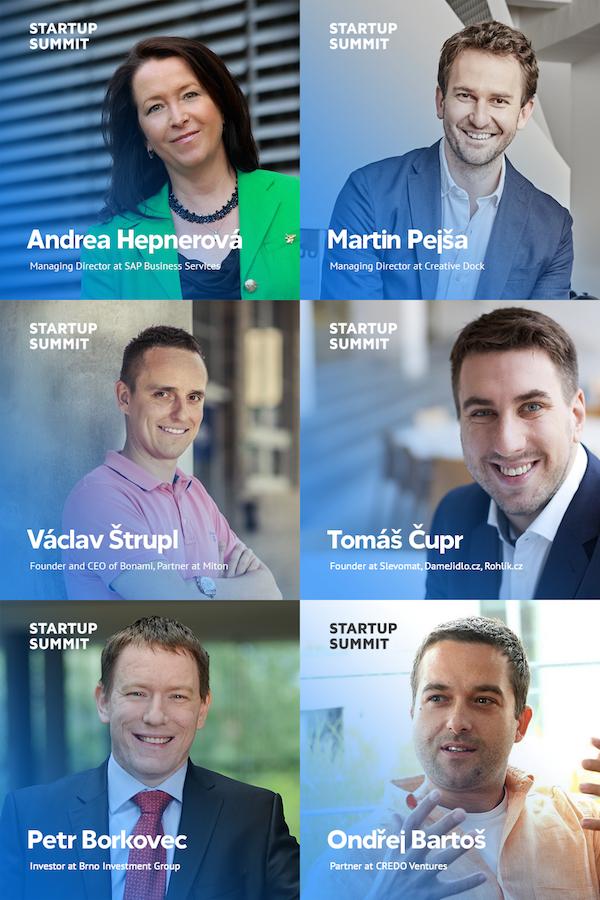 Spíkři Startup Summitu 2015