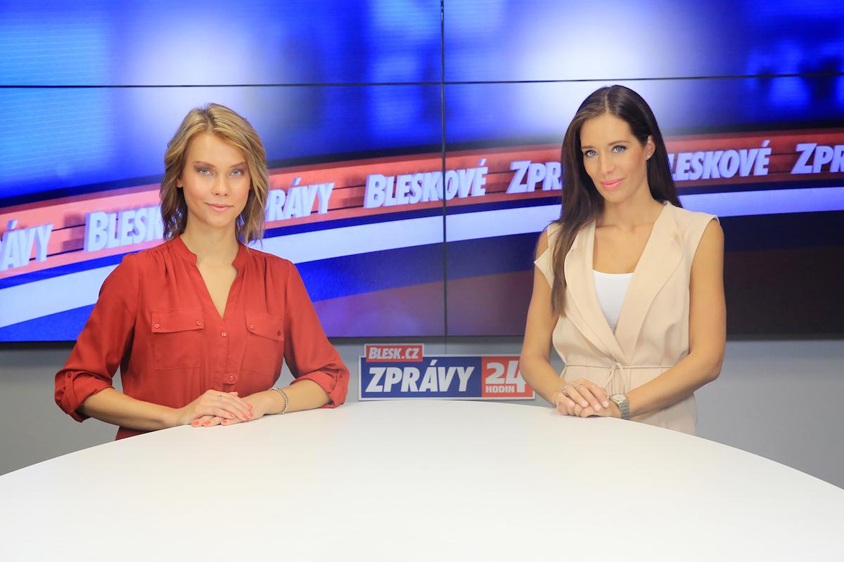 Markéta Volfová a Bára Horáková. Foto: Daniel Černovský, Czech News Center