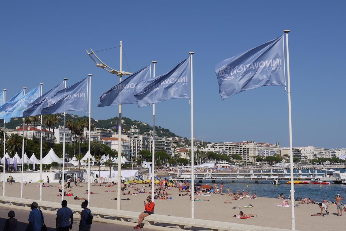 Reklamní festival probíha ve francouzském letovisku Cannes. Foto: Honza Marcinek, Flemedia