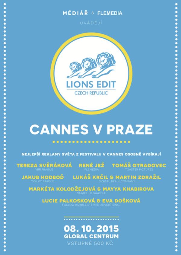 Cannes v Praze