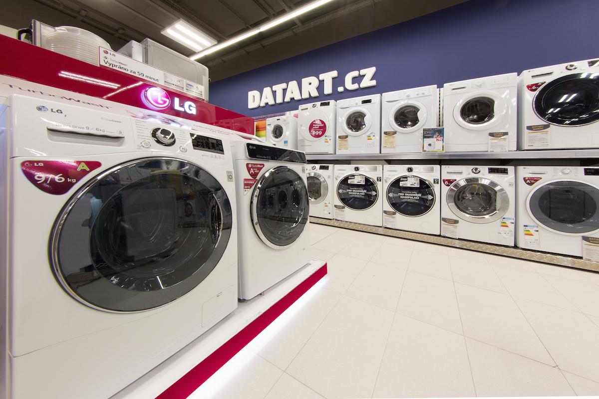 Nový vzhled prodejen Datartu