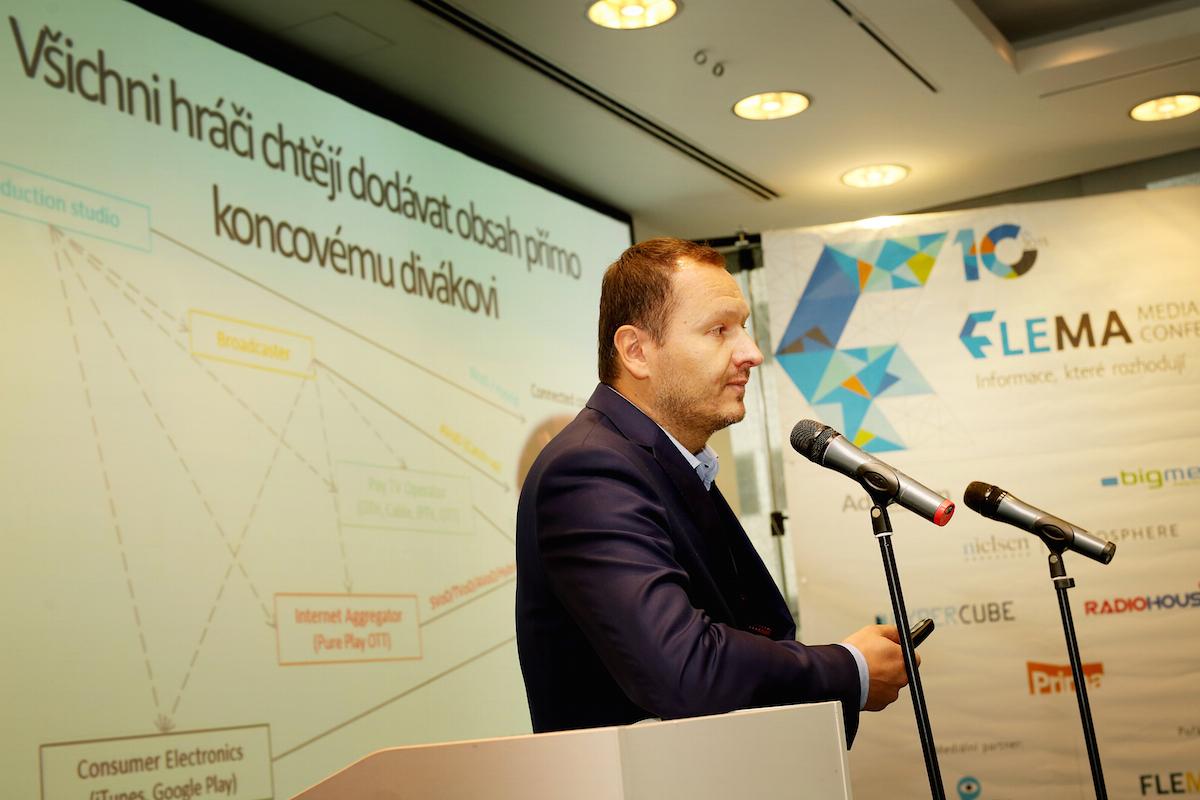 Daniel Grunt na konferenci Flema. Foto: Hynek Glos