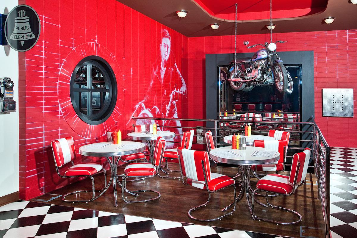 Restaurace James Dean v centru Prahy. Repro: jamesdean.cz