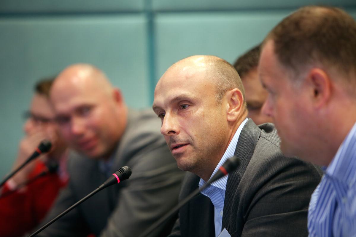 Obchodní ředitel Novy Jan Vlček v debatě o mediálních auditorech. Foto: Hynek Glos, Flema