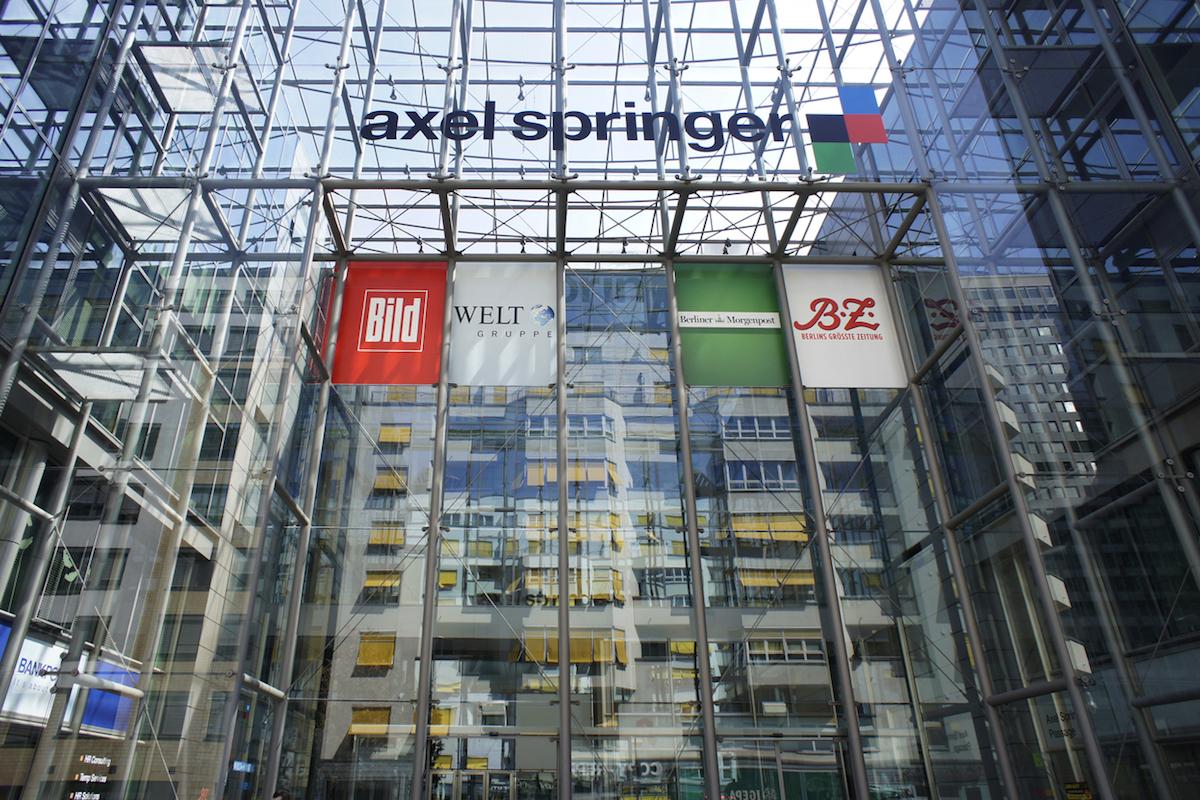 Berlínské sídlo Axel Springer. Foto: Profimedia.cz