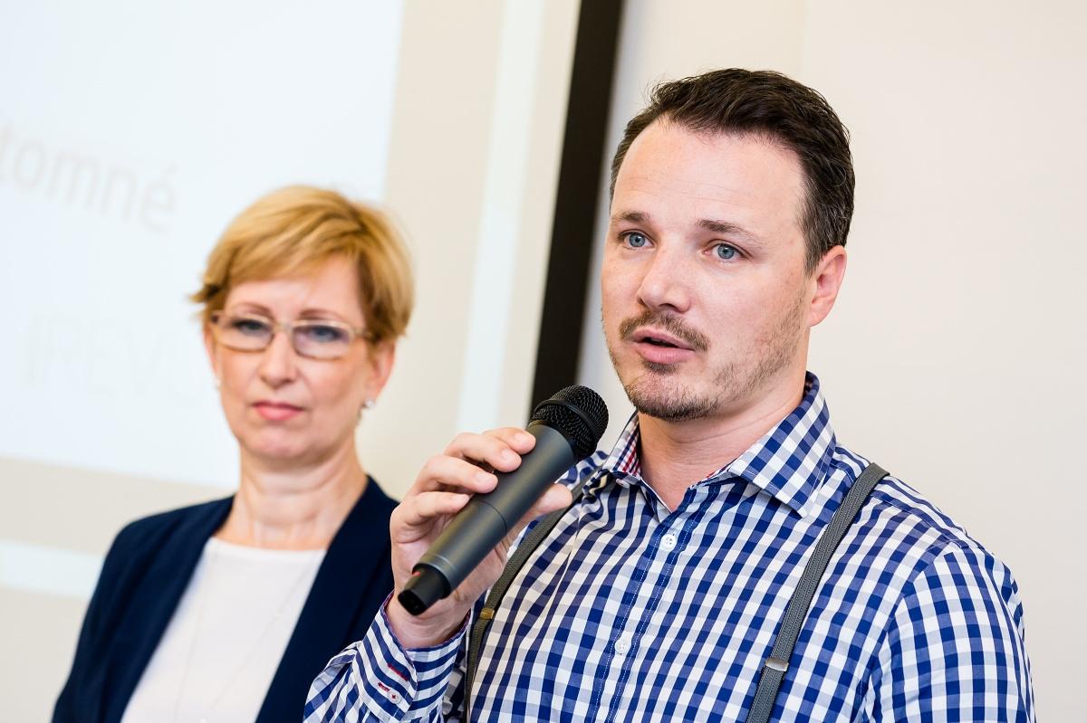 Martin Vymětal a Vladimíra Nejedlá