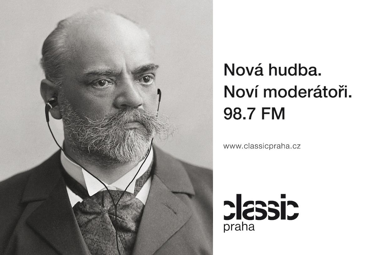 Plakát rádia Classic Praha