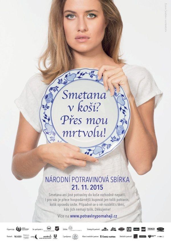 Emma Smetana proti plýtvání jídlem