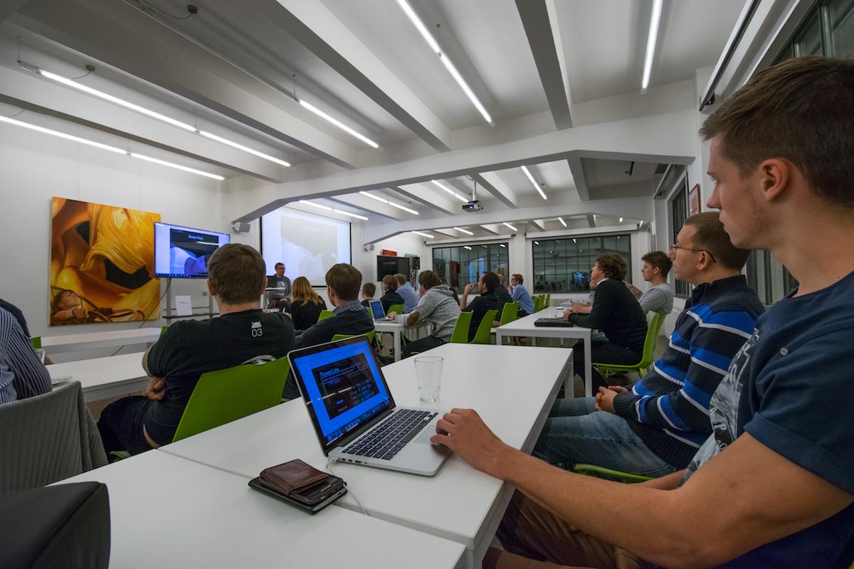 AppParade Meet proběhl v Global Centru, kde sídlí i Médiář. Foto: Martina Votrubová