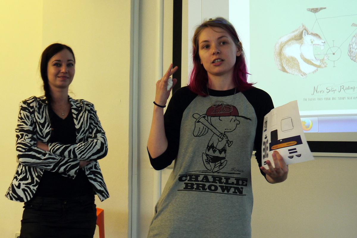 Markéta Kolodžejová a Mayya Khabirova z agentury Saatchi & Saatchi. Foto: Jan Marcinek, Flemedia