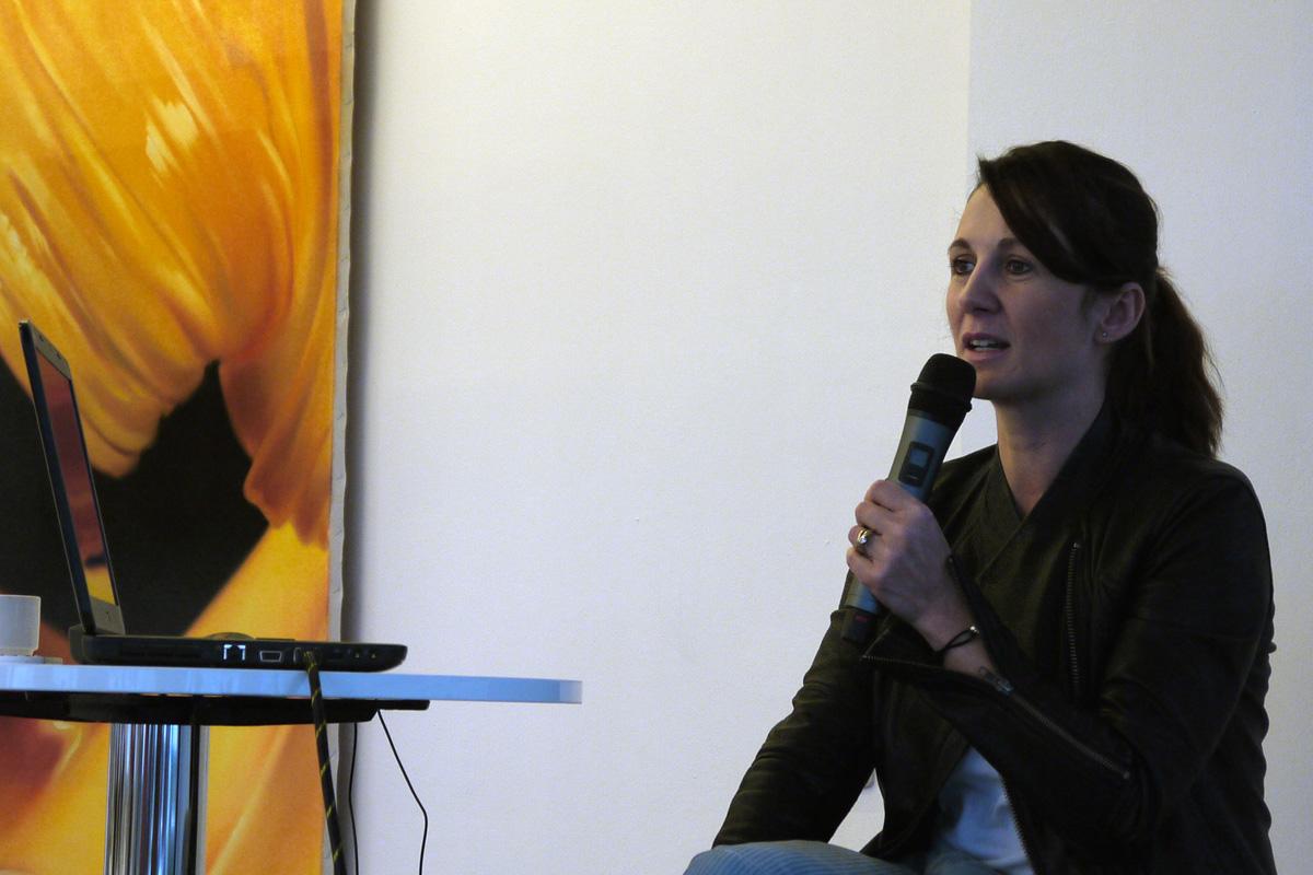 Tereza Svěráková z reklamní agentury Young&Rubicam. Foto: Jan Marcinek, Flemedia