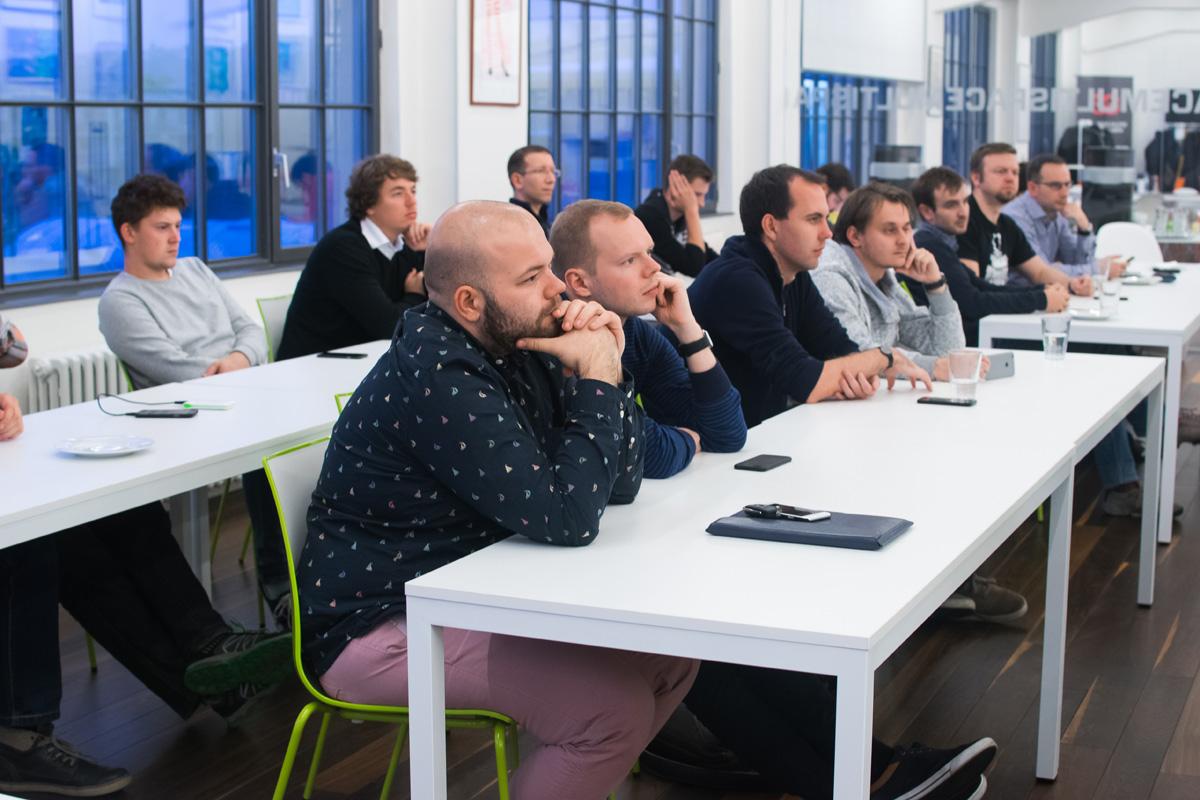 Řada vývojářů chodí na AppParade Meet pravidělně. Foto: Martina Votrubová