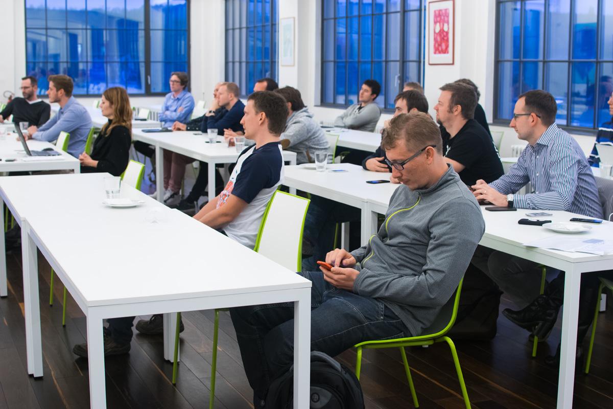 AppParade Meet se zúčastnilo na třicet vývojářů. Foto: Martina Votrubová