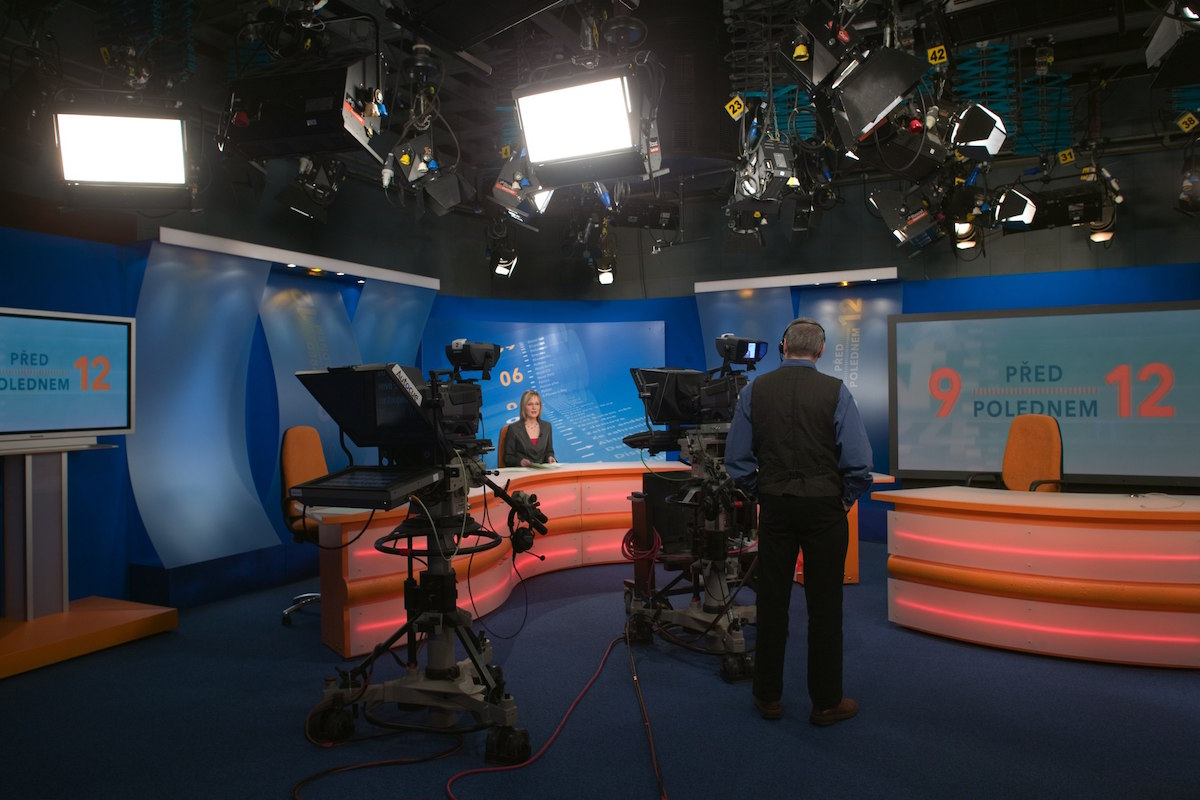 Někdejší podoba studia 6 na Kavčích horách. Foto: Česká televize