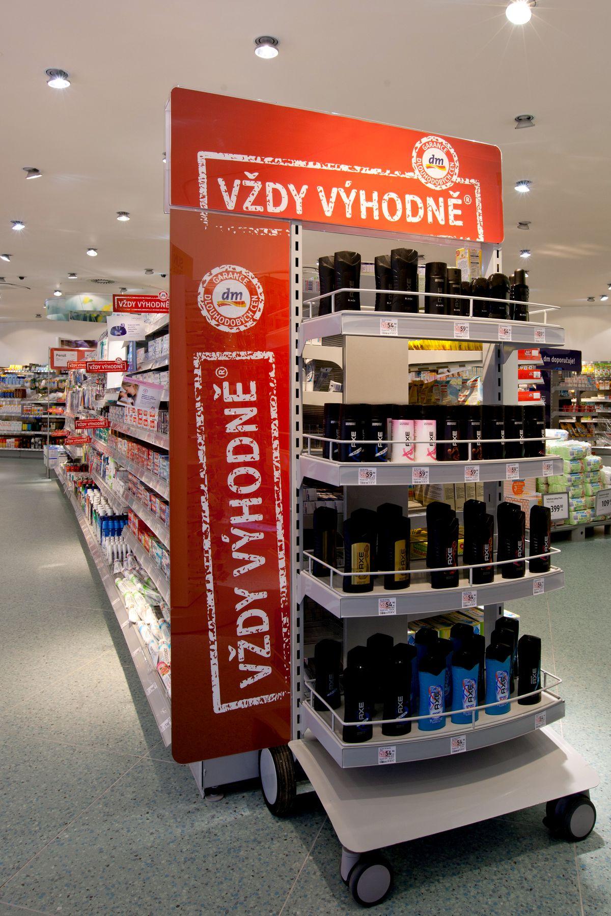 Druhotné umístění značkových výrobků