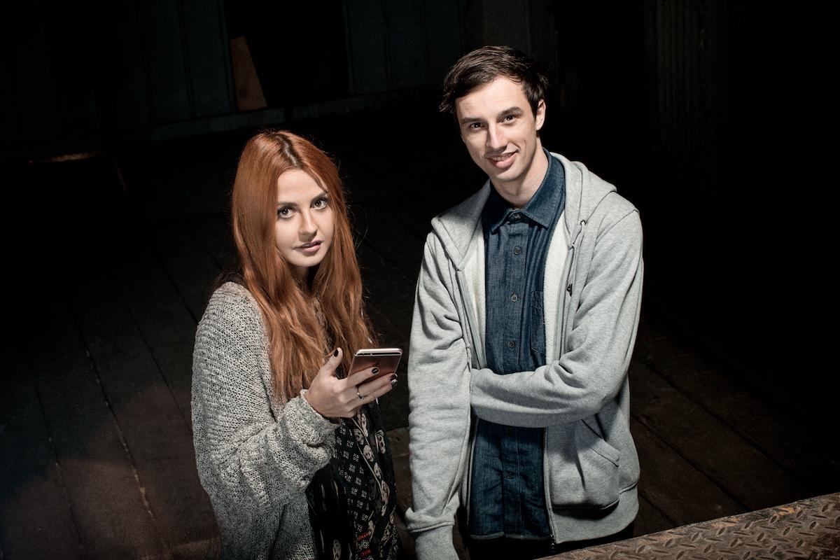 Eva Liba a Jonáš Čumrik. Foto: David Bruner