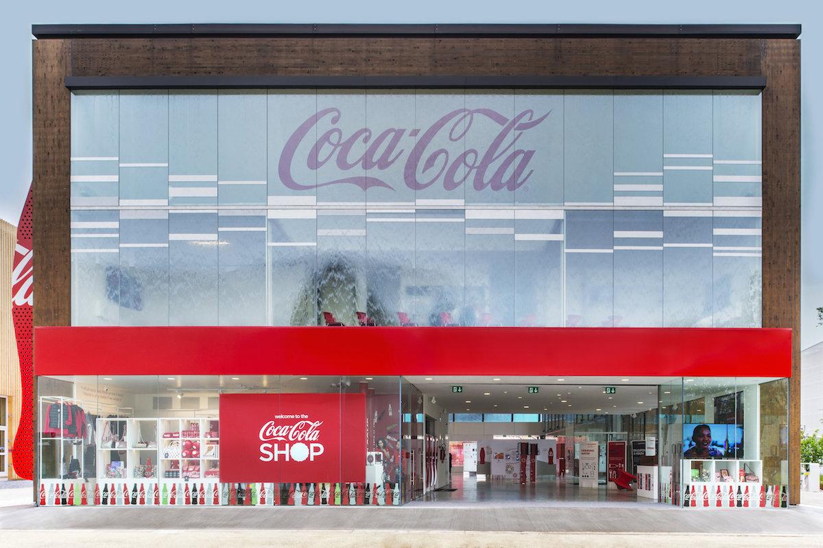 Pavilon Coca-Coly na milánské světové výstavě Expo