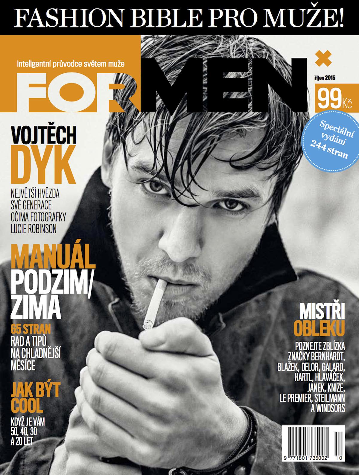 Druhé vydání Fashion Bible časopisu ForMen