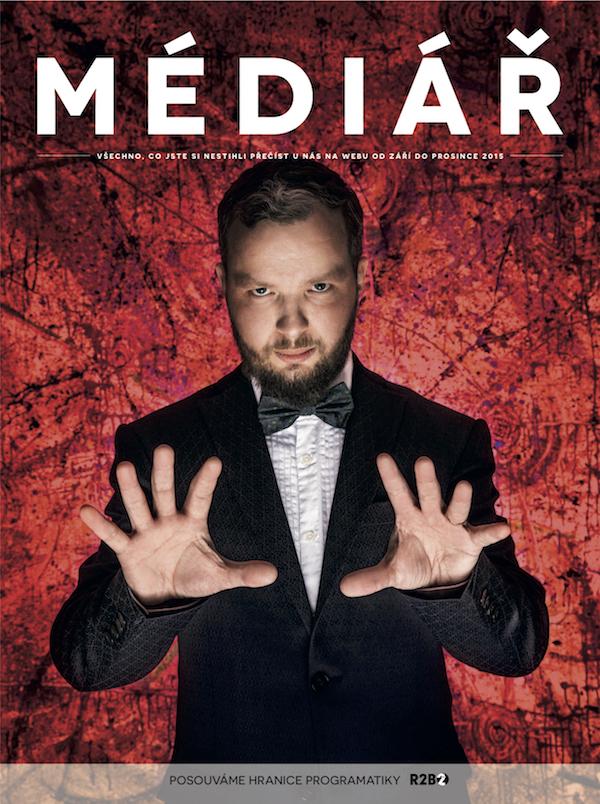 Druhé číslo tištěné čtvrtročenky Médiáře