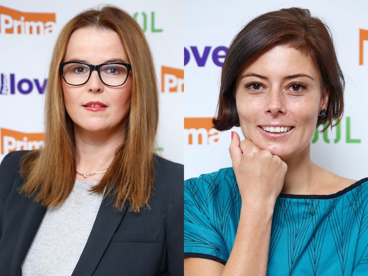 Jana Mrákotová a Gabriela Semová