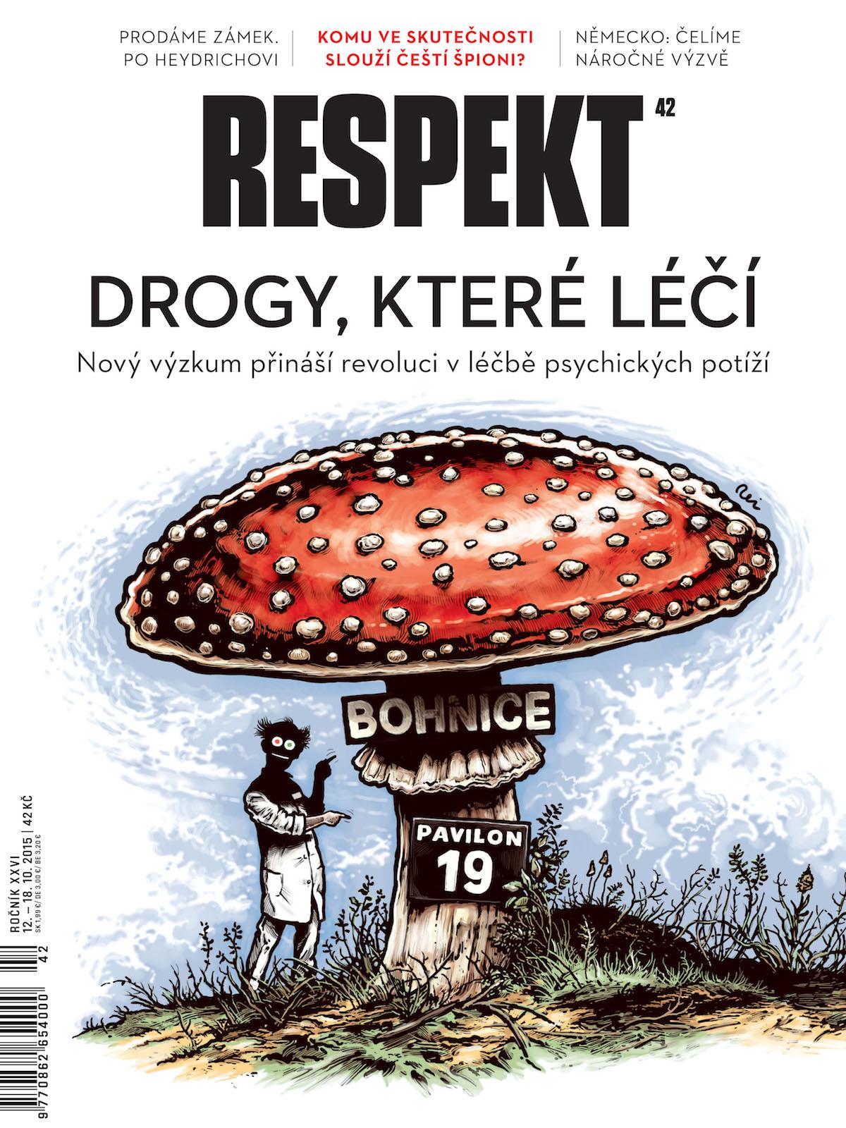 Týdeník Respekt v nové úpravě