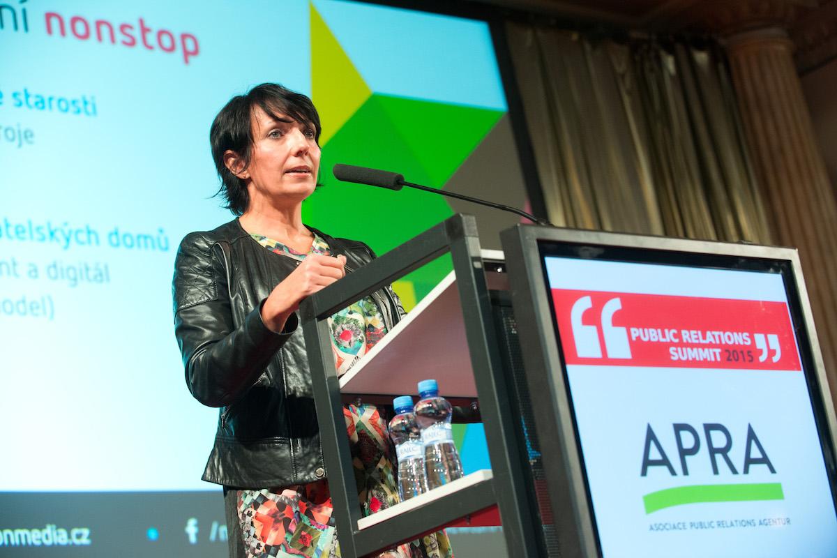 Petra Mašínová na PR Summitu. Foto: David Bruner