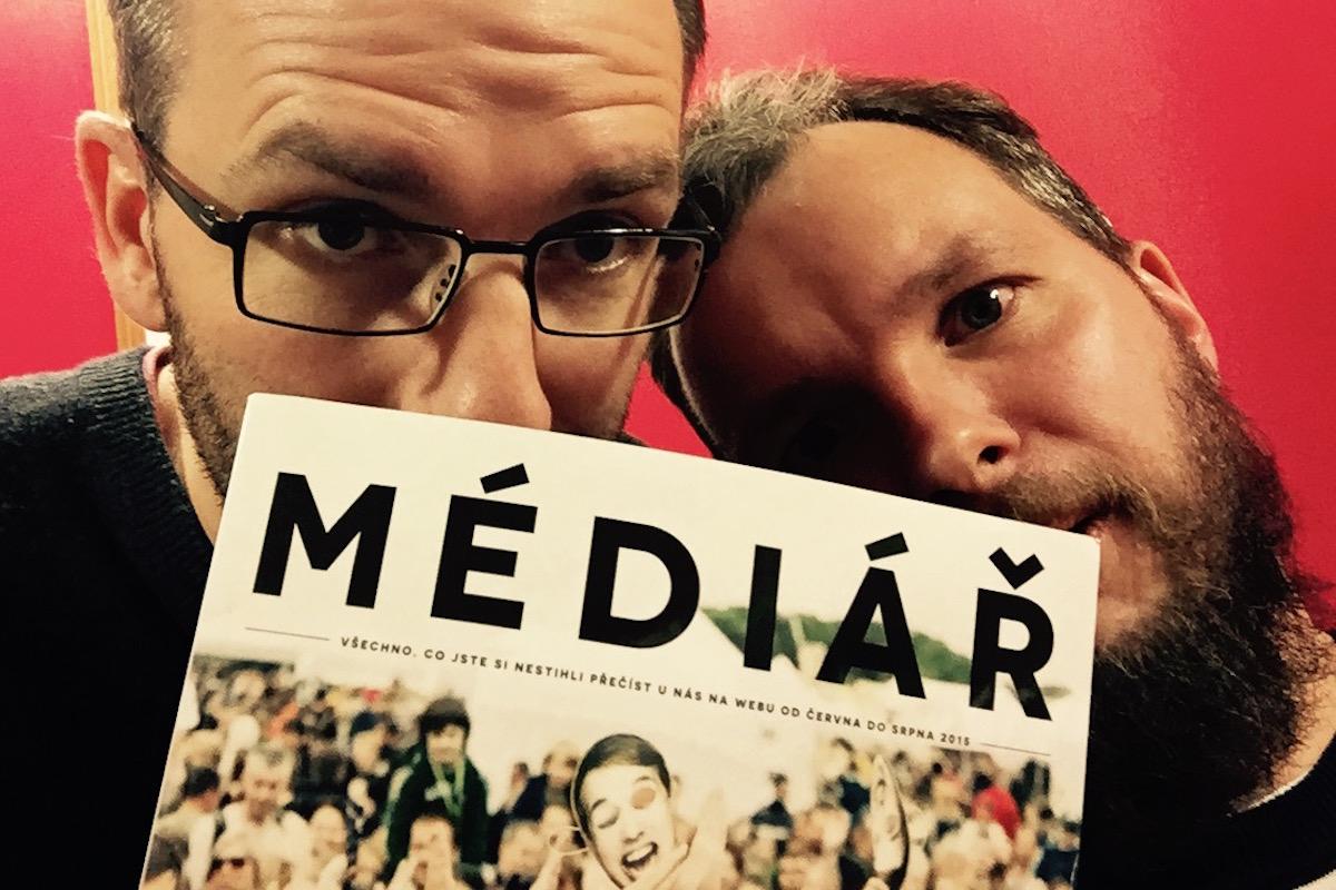 První podcast s časopisem v hlavní roli