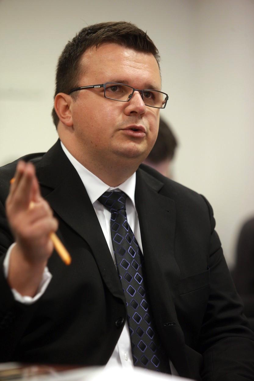 Jan Menger kandidoval na šéfa rozhlasu už v roce 2011, proti Peteru Duhanovi. Byl jedním z šestice nominovaných tehdejší radou. Foto: Profimedia.cz