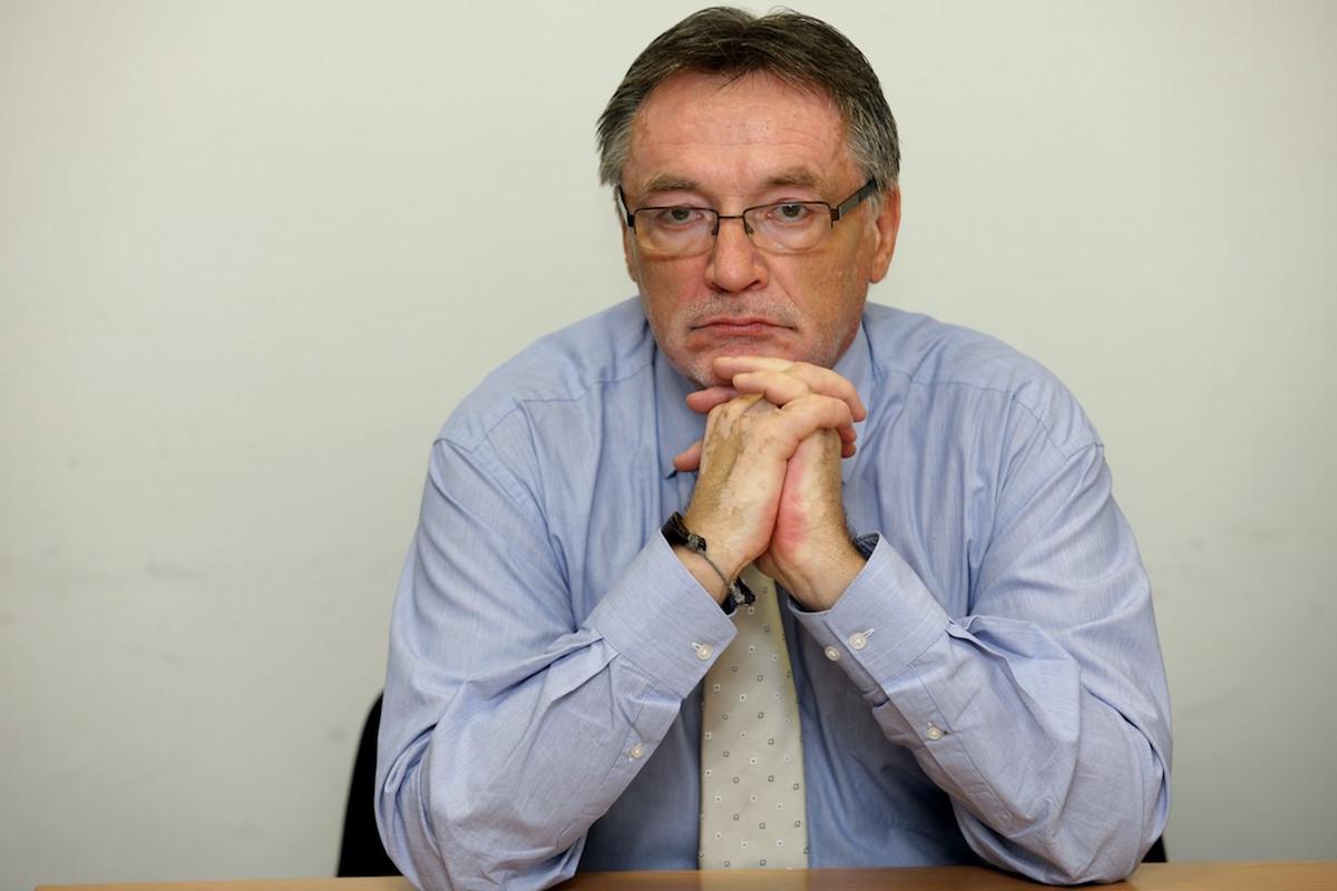 Peter Duhan ještě jako kandidát na generálního ředitele rozhlasu v červenci 2011. Foto: Profimedia.cz