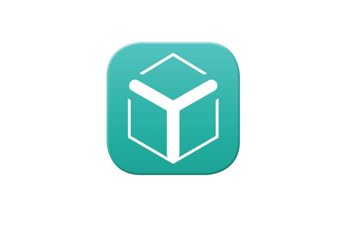 Nejdřív se objevilo písmeno Y v zelené ploše tvaru krabičky